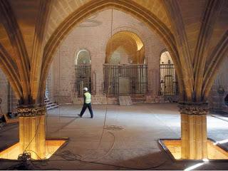 Figura 10. Restauración del conjunto monumental de Ujué (Navarra)