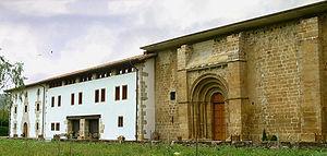 Figura 16. Santa María de Zamarce (Navarra), siglo XII, Décadas de abandono.
