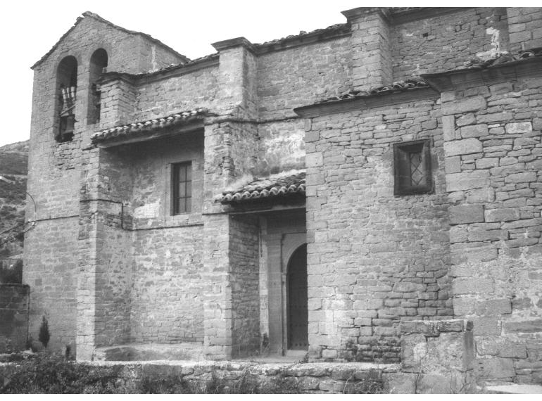 Figura 34. Iglesia de San Andrés de Ayesa (Navarra).