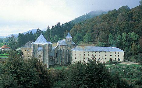 Figura 40. Monasterio de Roncesvalles (Navarra), otra restauración ejemplar.