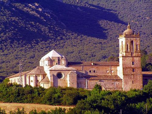 Figura 45. El monasterio de Irache (Navarra) tiene una fuente de vino.