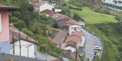 Gijon. 17/06/2016. Vista del barrio del Muselin. Foto: Daniel Mora.................