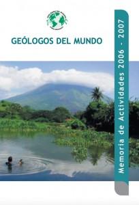 Memoria de Actividades de Geólogos del Mundo 2006 - 2007