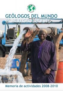 Memoria de Actividades de Geólogos del Mundo 2008 - 2010
