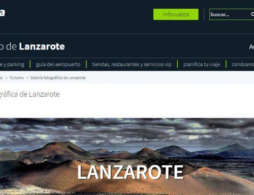 Paisajes, mensajes y geodiversidad en el aeropuerto de Lanzarote