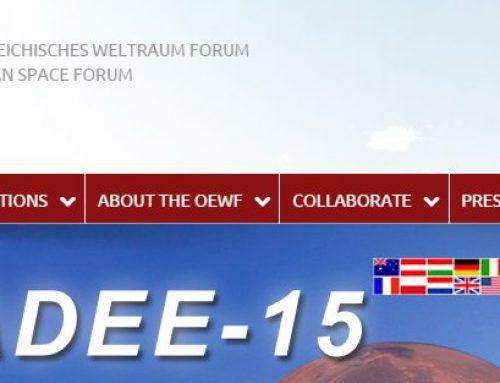 Jesús Martínez-Frías entrevistado en el Austrian Space Forum (OeWF)