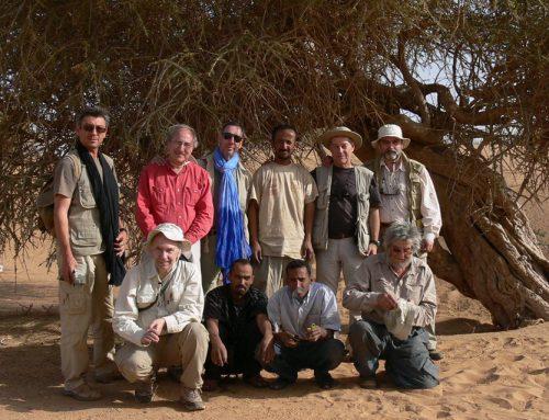 """Presentación del libro """"Meteoritos del Sáhara y Cráteres de Impacto en Mauritania"""""""